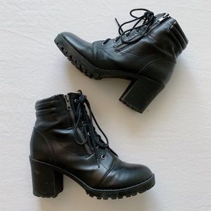 Moto Ankle Booties